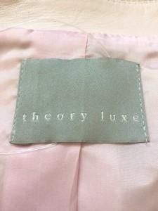セオリーリュクス theory luxe ジャケット レディース ピンク【中古】