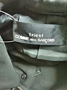 トリココムデギャルソン tricot COMMEdesGARCONS コート レディース 美品 黒 冬物【中古】