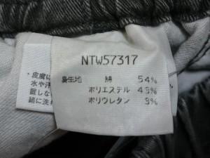 ノースフェイス THE NORTH FACE パンツ サイズS レディース ダークグレー【中古】