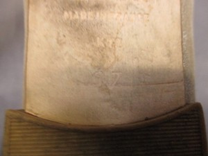 レペット repetto フラットシューズ 37 レディース ゴールド×ベージュ リボン/ラメ 化学繊維×レザー【中古】