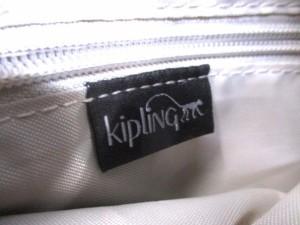 キプリング Kipling ハンドバッグ レディース 美品 黒 ナイロン【中古】