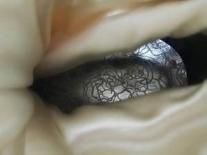 ジーザスディアマンテ JESUS DIAMANTE ロングブーツ L レディース アイボリー 化学繊維【中古】