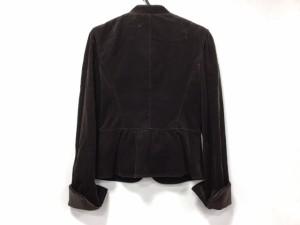 アンタイトル UNTITLED ジャケット サイズ2 M レディース 美品 ダークブラウン【中古】