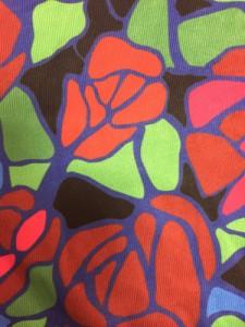 ジョイリッチ JOYRICH ノースリーブカットソー サイズS レディース レッド×グリーン×マルチ ロング丈/フラワー【中古】