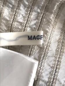 マカフィ MACPHEE ワンピース サイズ38 M レディース ベージュ×ライトブラウン ストライプ【中古】
