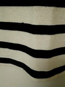 フレッドペリー FRED PERRY 半袖ポロシャツ サイズM レディース 白×黒 ボーダー【中古】
