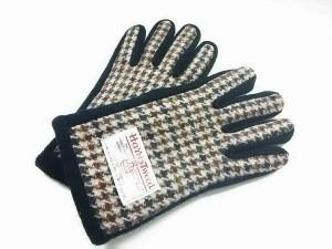 ハリスツイード手袋の画像