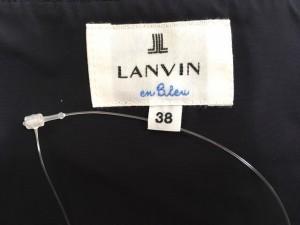 ランバンオンブルー LANVIN en Bleu ワンピース サイズ38 M レディース ダークネイビー【中古】
