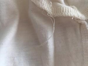 ヴィヴィアンウエストウッド VivienneWestwood 半袖Tシャツ サイズM レディース アイボリー×ダークグレー×ボルドー【中古】