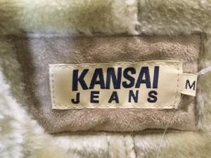 カンサイ kansai ブルゾン サイズM メンズ 美品 ベージュ JEANS/フェイクムートン/冬物【中古】