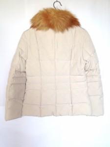 アイシービー ICB ダウンジャケット サイズ11 M レディース アイボリー 冬物【中古】