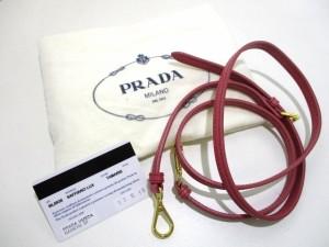 プラダ PRADA ハンドバッグ 美品 - BL0838 ピンク レザー(サフィアーノリュクス)【中古】