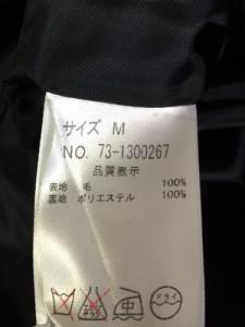 テチチ Te chichi コート レディース ダークネイビー 冬物【中古】