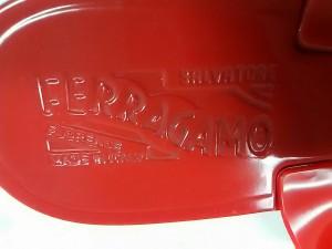 サルバトーレフェラガモ SalvatoreFerragamo ビーチサンダル 6 レディース - レッド リボン ラバー【中古】