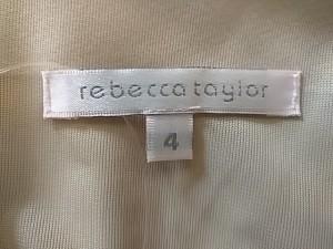 レベッカテイラー rebecca taylor ワンピース サイズ4 S レディース 美品 ベージュ【中古】