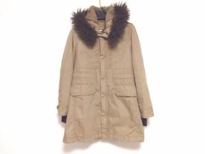 マカフィ MACPHEE コート サイズ38 M レディース ブラウン 冬物【中古】