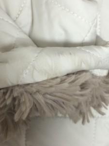 マッキントッシュ MACKINTOSH コート レディース 白 キルティング/内側ボア/冬物【中古】