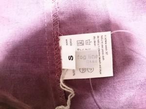 フォグリネンワーク fog linen work スカート サイズS レディース 美品 パープル×ネイビー リバーシブル【中古】