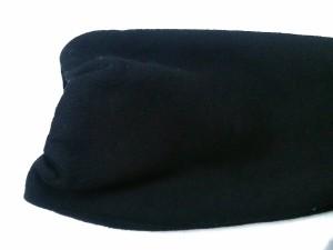 レッセパッセ LAISSE PASSE コート サイズ38 M レディース 黒 リボン/冬物【中古】