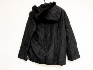 バルマン BALMAIN コート サイズ9 M レディース 美品 黒 春・秋物【中古】