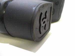 シャネル CHANEL レインブーツ 36 レディース 美品 カメリア G26648 黒 インソール取外し可 ラバー【中古】