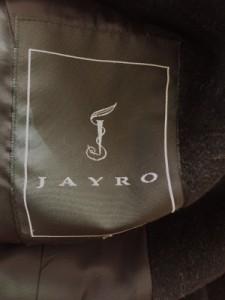 ジャイロ JAYRO コート レディース 黒 ファー/冬物【中古】