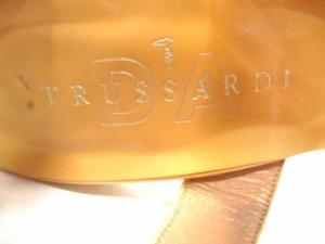 トラサルディー TRUSSARDI サンダル 22 1/2 レディース ベージュ レザー【中古】