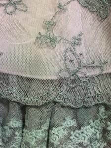 アクシーズファム axes femme スカート レディース 美品 ピンク×グレー【中古】