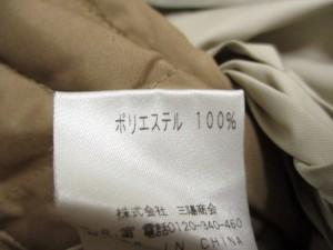 アマカ AMACA コート レディース 美品 ベージュ×ブラウン ファー/冬物【中古】