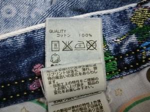 ロデオクラウンズ RODEOCROWNS スカート サイズ2 M レディース ライトブルー×ブルー【中古】