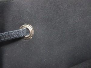 フルラ FURLA ハンドバッグ レディース 黒 巾着型 レザー【中古】