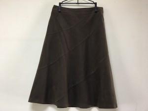 エムズグレイシー M'S GRACY スカート レディース 美品 ダークブラウン【中古】