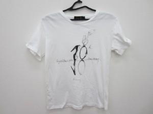 ドゥロワー Drawer 半袖Tシャツ サイズ1 S レディース 美品 白×黒【中古】