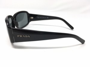 プラダ PRADA サングラス レディース 新品同様 SPR12H ダークグレー×黒 プラスチック【中古】
