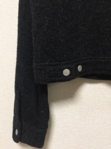 ダナキャラン DKNY ブルゾン サイズS レディース ダークグレー ニット【中古】