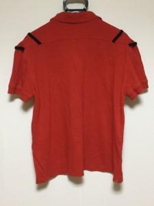 ヴェロニク・ブランキーノ VERONIQUE BRANQUINHO 半袖ポロシャツ サイズ48 XL メンズ レッド【中古】