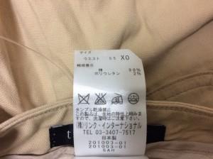 セオリー theory パンツ サイズXO XL レディース 美品 アイボリー【中古】
