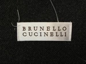 ブルネロクチネリ BRUNELLO CUCINELLI スカート レディース 美品 ダークグレー【中古】