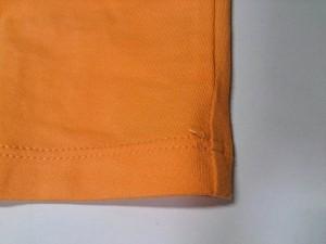 ヴェルサーチジーンズ VERSACE JEANS COUTURE 半袖Tシャツ サイズS レディース 美品 オレンジ【中古】
