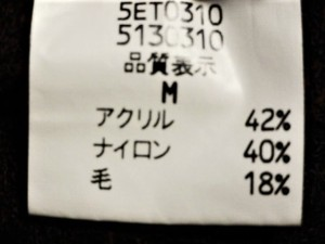 レストローズ L'EST ROSE ワンピース サイズM レディース レッド×黒【中古】