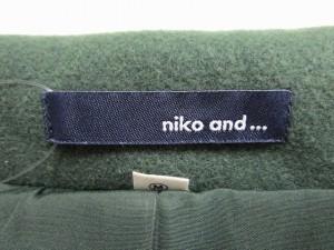 ニコアンド niko and... コート サイズ3 L レディース ダークグリーン 冬物【中古】