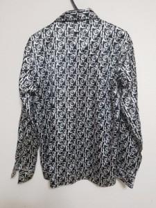 ゴルチエオム オブジェ GAULTIERHOMMEobjet 長袖シャツ メンズ 黒×白【中古】
