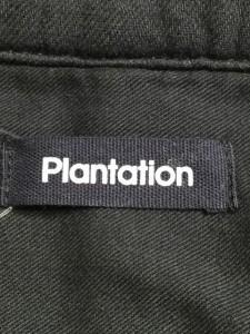 プランテーション Plantation コート サイズM レディース 黒 春・秋物【中古】
