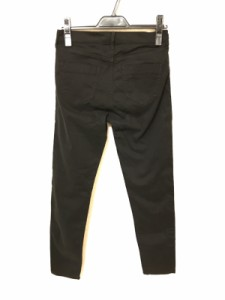 ルーニィ LOUNIE パンツ サイズ38 M レディース 黒 モールスキン【中古】