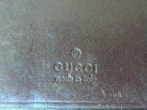 グッチ GUCCI キーケース レディース シマライン 212098 ダークブラウン 6連フック レザー【中古】