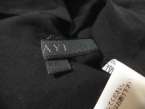 アナイ ANAYI 七分袖シャツブラウス サイズ38 M レディース 美品 黒【中古】