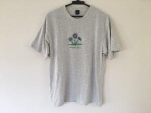 モンベル mont-bell 半袖Tシャツ レディース 美品 ライトグレー×グレー【中古】