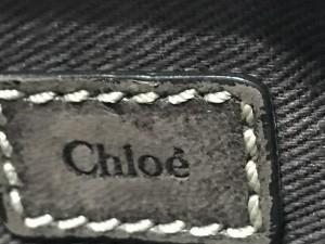 クロエ Chloe コインケース レディース ノヴァ ダークブラウン×マルチ スタッズ/キーリング付き レザー【中古】
