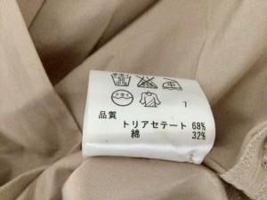ニジュウサンク 23区 ワンピース サイズ44 L レディース ベージュ シャツワンピ【中古】