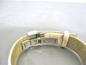 トラサルディー TRUSSARDI 腕時計 新品同様 TRD-6007 レディース 革ベルト/型押し加工 シルバー【中古】